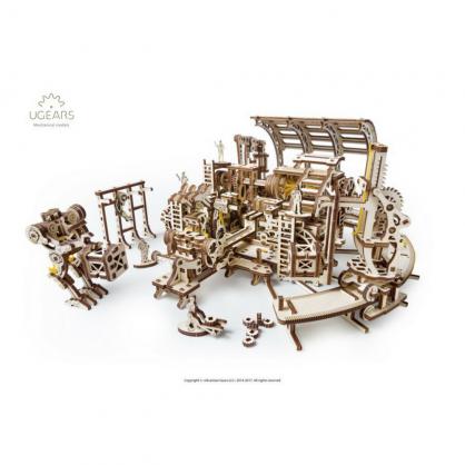 Ugears【機械小鎮】機器人工廠 Robot factory