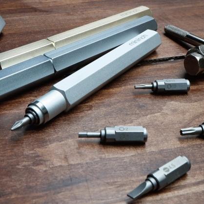 Tool Pen 迷你工具筆一代 (18件組) 雪白銀
