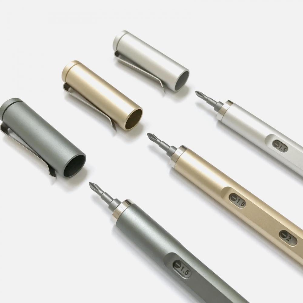 Tool Pen MINI 迷你工具筆二代 (22件組) 亮眼銀