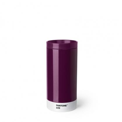 Pantone 色票保溫隨行杯(苑紫)
