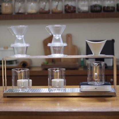 【獨家商品】日本訂製不鏽鋼咖啡手沖架