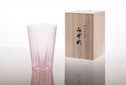 100% 櫻花玻璃杯 霙1入組 SAKURASAKU glass(240 cc) 不挑色