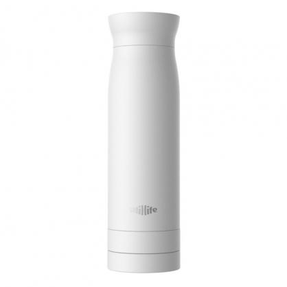 加拿大 Utillife 輕盈收納保溫瓶 420ml(八色,白)