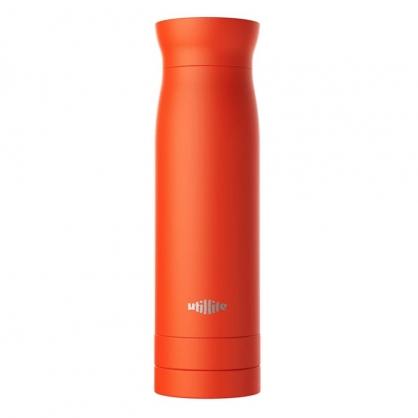 加拿大 Utillife 輕盈收納保溫瓶 420ml 橘