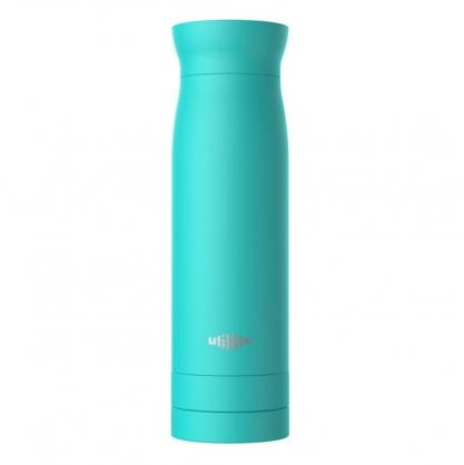 加拿大 Utillife 輕盈收納保溫瓶 420ml 湖水綠