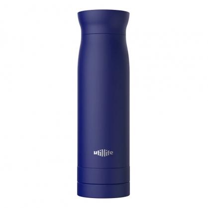加拿大 Utillife 輕盈收納保溫瓶 420ml 靛藍