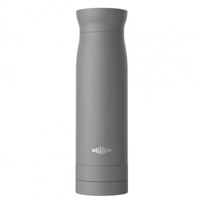 加拿大 Utillife 輕盈收納保溫瓶 420ml 灰