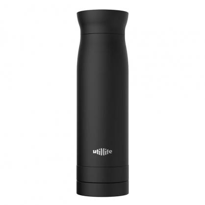 加拿大 Utillife 輕盈收納保溫瓶 420ml 黑