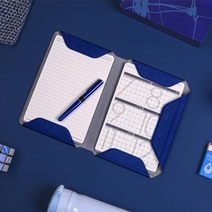 質感A5文件收納夾 NoteBook Modular 靜謐藍