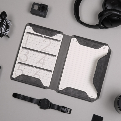 質感A5文件收納夾 NoteBook Modular 斑駁灰