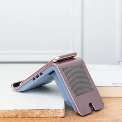Powerlounge 無線充電藍芽喇叭(四色,玫瑰金)