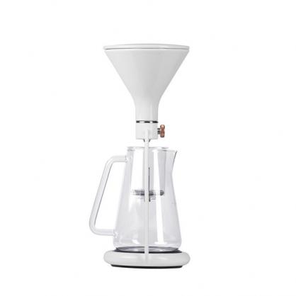 Gina 智慧型手沖咖啡壺(冰滴、手沖)高雅白