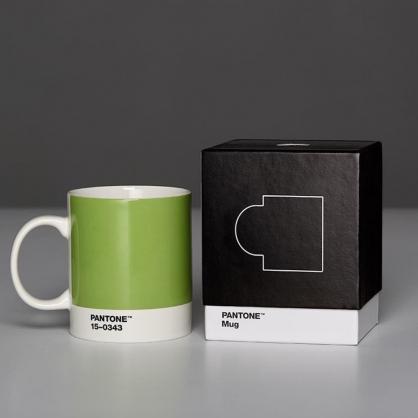 Pantone 色票馬克杯 美國原廠限量盒裝紀念版 (2017年度色,草木綠)