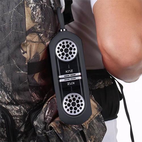 美國 Knz GoDuo 無線磁吸音響/透明主體/灰色矽膠套