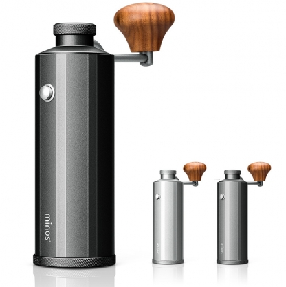 Minos 咖啡雙軸承鋁合金手搖磨豆機