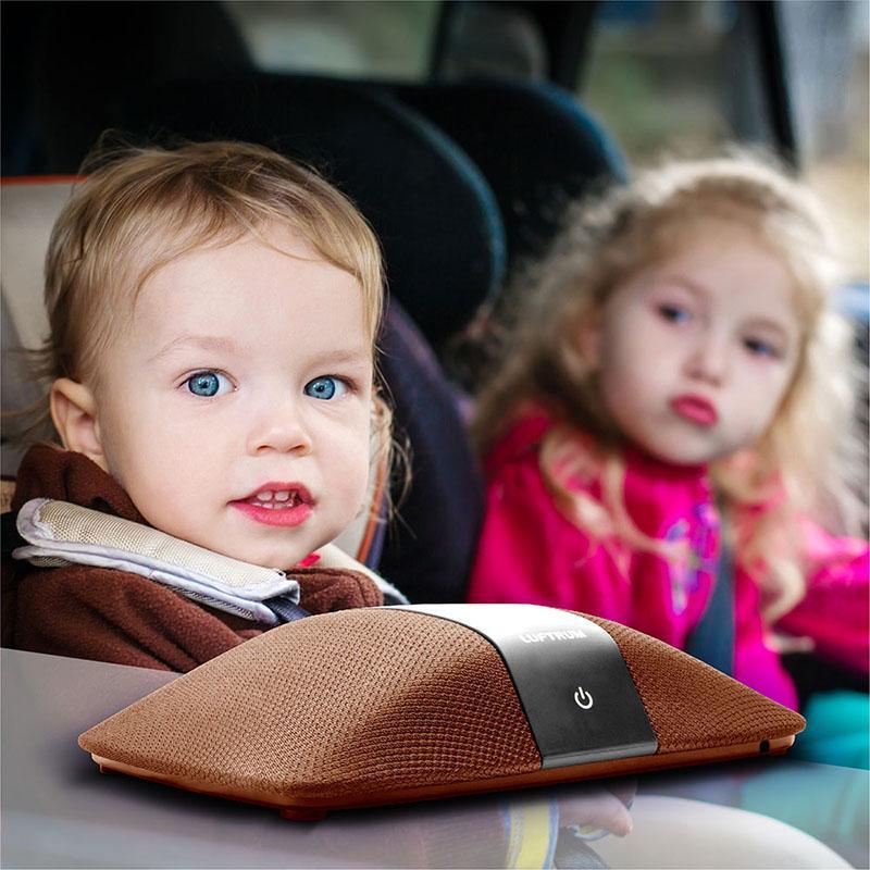 瑞典LUFTRUM 可攜式智能空氣清淨機C401A-暖咖啡 全配組 (小坪數/桌用/車用)
