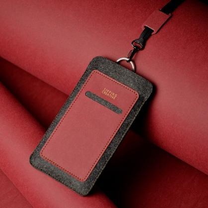 SIPPING CREATIVE 俬品創意 直式手機套附頸繩