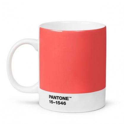 Pantone 色票馬克杯 美國原廠限量盒裝紀念版 (2019年度色,活珊瑚橘)