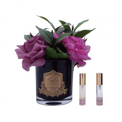 法國 Côte Noire 蔻特蘭 (粉彩英國皇家玫瑰,黑瓶)