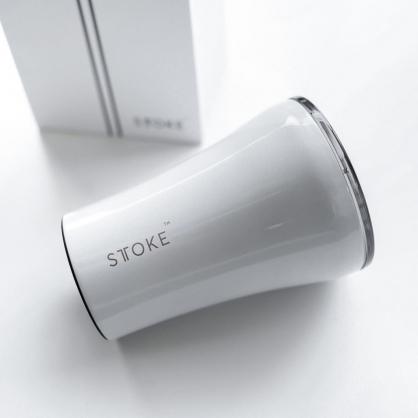 澳洲 STTOKE 精品咖啡隨行杯 8oz(三色,白)