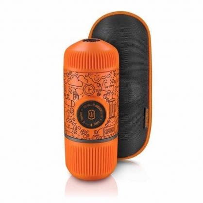 WACACO Nanopresso 隨身咖啡機(八款,橘色塗鴉)