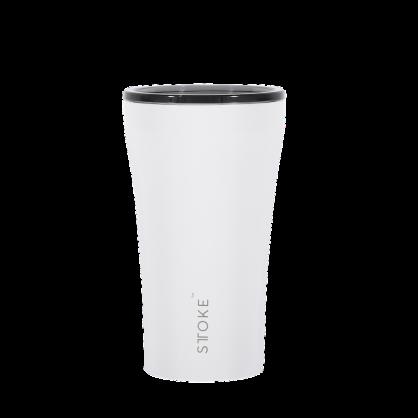 澳洲 STTOKE 精品咖啡隨行杯 12oz(三色,白)
