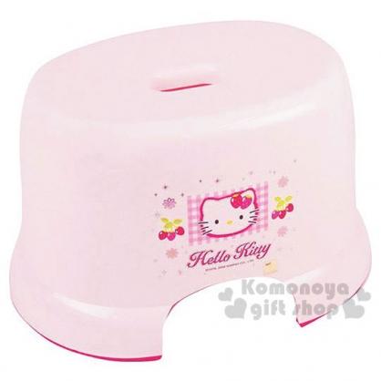 〔小禮堂〕Hello Kitty 浴椅《粉紅‧草莓》輕鬆美化浴室