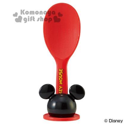 〔小禮堂〕迪士尼 米奇 飯匙附造型盒《紅.大臉》美化生活樂趣