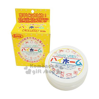 〔小禮堂〕Hi-home湯之花 日製萬用清潔膏《黃紙盒》容量約80g