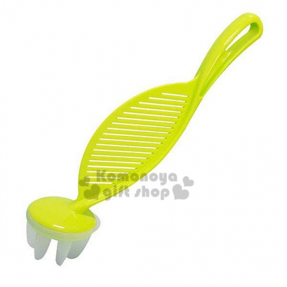 〔小禮堂〕inomata 日製長型手持洗米器 《綠》