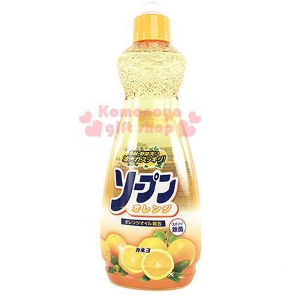 〔小禮堂〕日製橘子蔬果清洗劑 《橘.多橘子》容量600ml