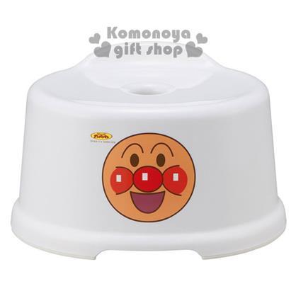 〔小禮堂〕麵包超人 日製兒童浴室椅《白.大臉》有小小背靠輔助