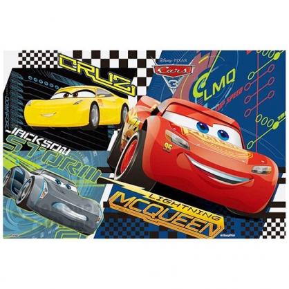 〔小禮堂〕CARS 閃電麥坤 野餐墊《s.紅.大眼睛.黃車.灰車》單人用尺寸90x60cm