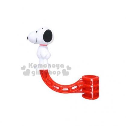 〔小禮堂〕Snoopy 史努比 車用造型掛勾《紅.史努比造型》耐重1~5公斤