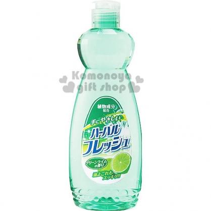 〔小禮堂〕MITSUEI 日製檸檬去油汙洗碗精 《綠.檸檬》容量600ml