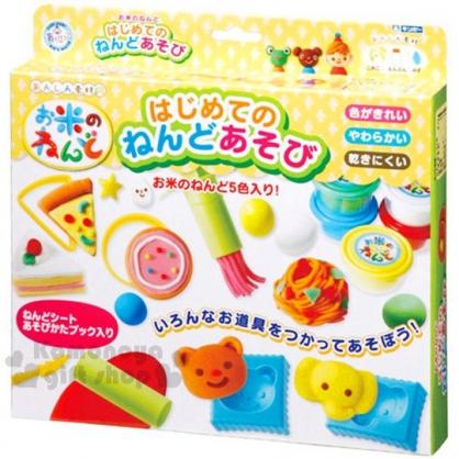 〔小禮堂〕兒童玩具黏土組《黃白.披薩.蛋糕.餅乾.義大利麵》適合3歲以上