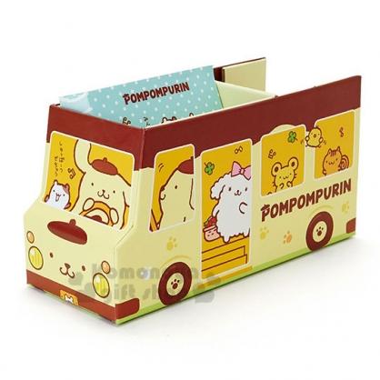 〔小禮堂〕布丁狗 紙膠帶便條本組《黃.咖.公車.多角色》