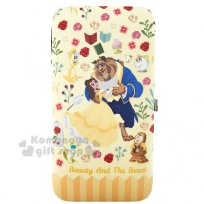 〔小禮堂〕迪士尼 美女與野獸 指甲剪組《黃.葛士華.奧斯華.玫瑰》附盒外出攜帶方便