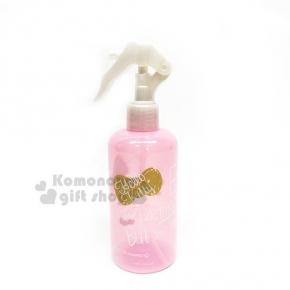 〔小禮堂〕Hello Kitty 噴霧罐《粉金.金蝴蝶結.洋裝.250ml》銅板小物