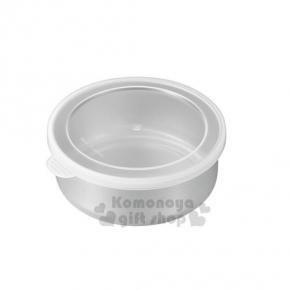 〔小禮堂〕日製不鏽鋼密封罐《S.不鏽鋼.白透.10.5cm》