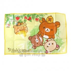 〔小禮堂〕懶懶熊 野餐墊《S.黃.蜜蜂熊.蜂窩.90x60cm》單人用尺寸設計