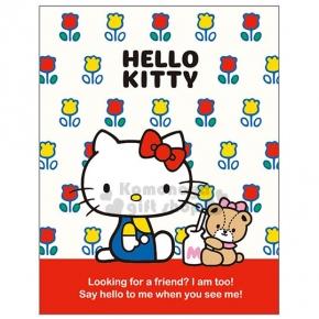 〔小禮堂〕Hello Kitty 日製自黏便利貼《紅白.小花滿版.側坐.小熊》