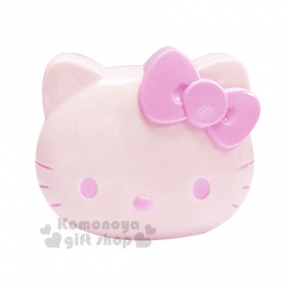 〔小禮堂〕Hello Kitty 電動按摩梳《粉.大臉.盒裝》