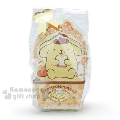 〔小禮堂〕布丁狗 日製造型便條紙附紙盒《黃.坐姿.吃吐司》
