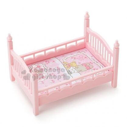 〔小禮堂〕兔媽媽 床造型置物盒附便條紙《淡粉》可堆疊.收納盒.飾品盒