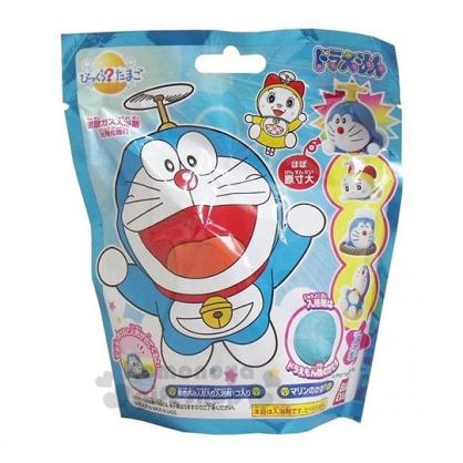 〔小禮堂〕哆啦A夢 造型入浴球《4款.隨機出貨.藍》入浴劑.泡澡球