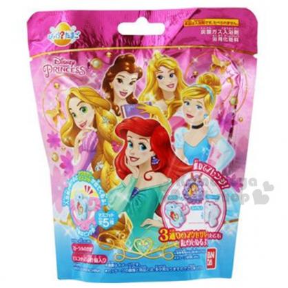 〔小禮堂〕迪士尼 公主 造型入浴球《5款隨機.粉.各公主》入浴劑.泡澡球