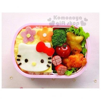 〔小禮堂〕Hello Kitty 料理食材切模《2種入》創意KT便當輕鬆做