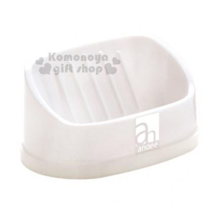 〔小禮堂〕山田化學 日製濾水肥皂架 《白》置物架.收納架.皂盒
