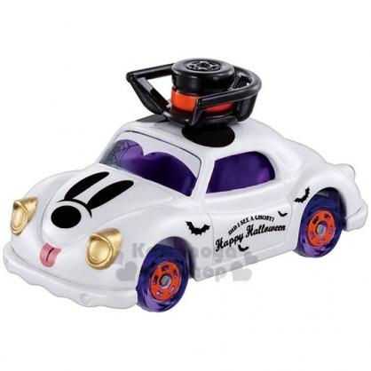 〔小禮堂〕迪士尼 米奇 TOMICA小汽車《紫白.萬聖節》模型.公仔.玩具車